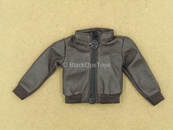 1/12 - Cyclops - Brown Leather Like Jacket