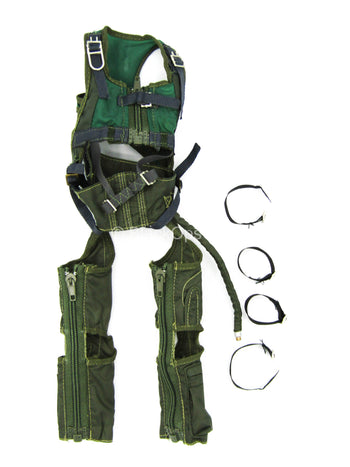 Combat Aircrew Pilot - OD Green G-Suit Harness