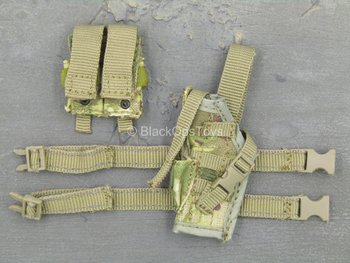 Special Combat Sniper - Multicam Drop Leg Holster w/Mag Pouch