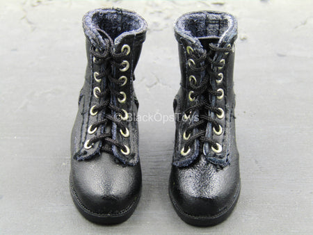 Combat Aircrew Pilot - Black Boots (Foot Type)