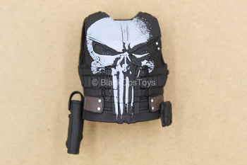1/12 - The Punisher - Black Combat Vest w/Holster & Sheath