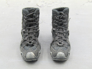 BOOT - Black Combat Boots (Foot Type)