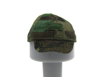 Female Soldier - Woodland Camo - Combat Cap