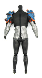 Arkham Origins - Deathstroke - Male Base Body w/Shoulder Armor