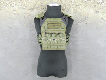 French Commandos - Breacher - OD Green Plate Carrier