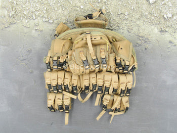 USMC - Sniper - Coyote Tan Large Chest Rig
