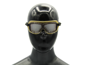The Chernobyl Rescuer - Tan Goggles