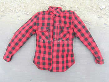DEA SRT Agent El Paso - Red Plaid Shirt