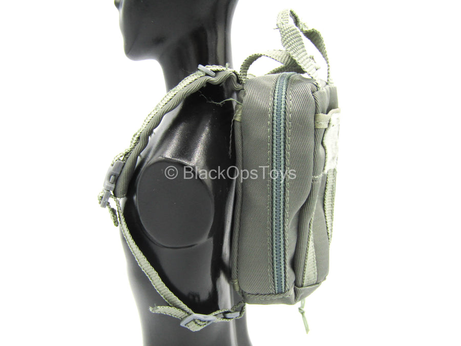 Night Stalkers Pilot - Gray Backpack