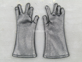 The Chernobyl Rescuer - Black Leather Like Gloves