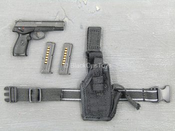 Chinese People's Armed Police - QSZ 92 Pistol w/Drop Leg Holster