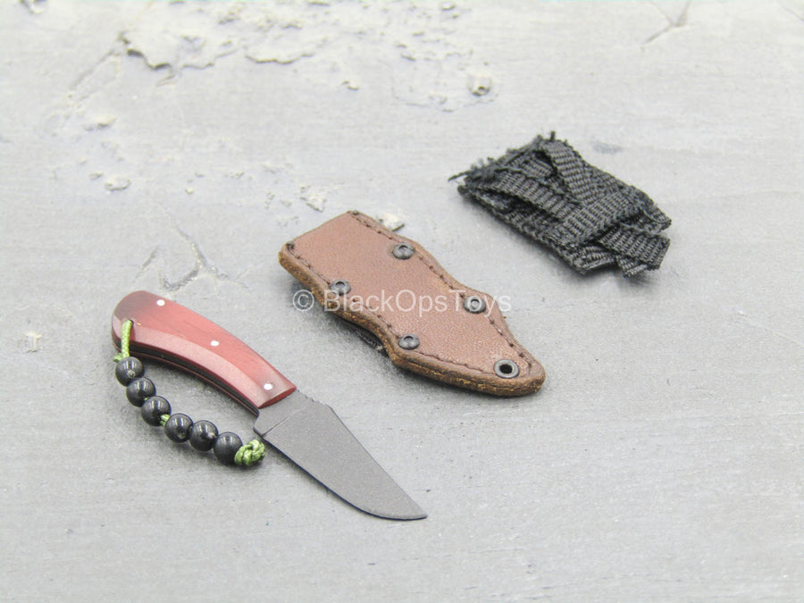 DEA SRT Agent El Paso - Combat Knife w/Sheath