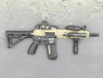 Sully Custom - Black & Tan HK 416 w/Accessory Set