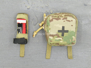 DEA SRT Agent El Paso - Multicam Medical Pouch & Tourniquet