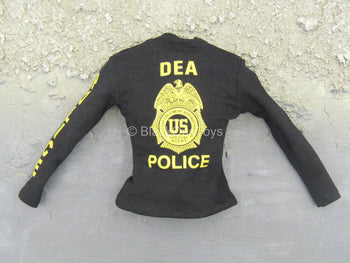 DEA SRT Agent El Paso - Black Long Sleeve Shirt w/DEA Logo