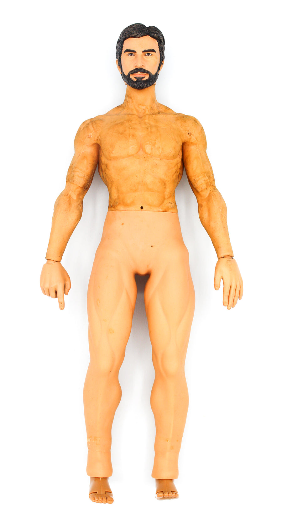 Private Military Contractor - Male Base Muscle Body w/Head Sculpt