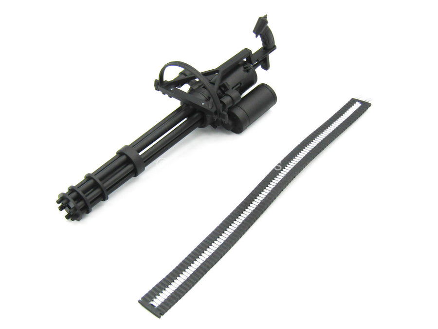 Sully Custom Black M134 Minigun W Ammo Belt