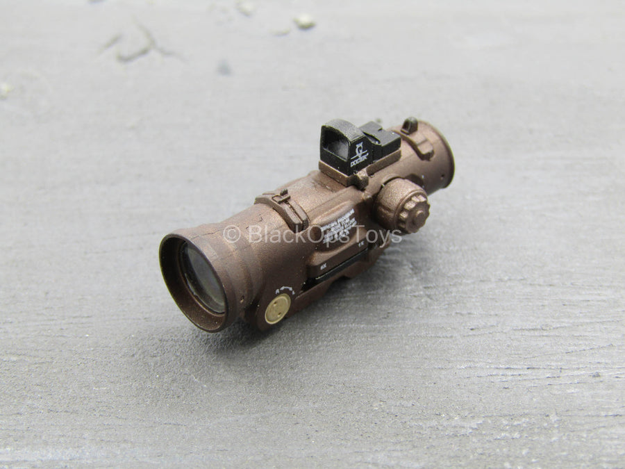 SCOPE - Brown ELCAN Scope w/MOA Sight