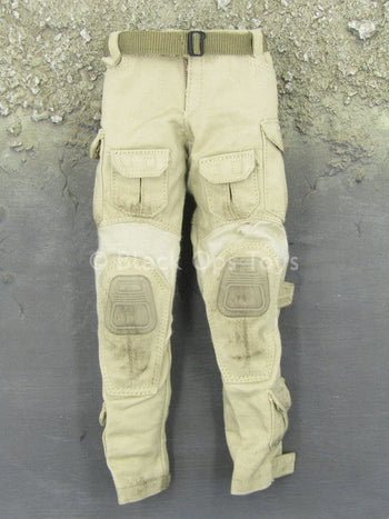 The Zombie Survivor - Tan Combat Pants w/Tan Belt