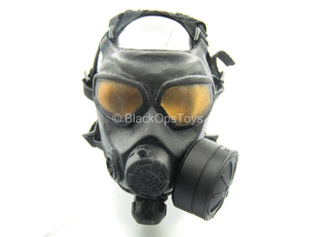 FBI - CIRG - Black Gas Mask w/Carry Bag