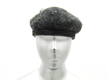 Female Peppered Grey Beret Hat