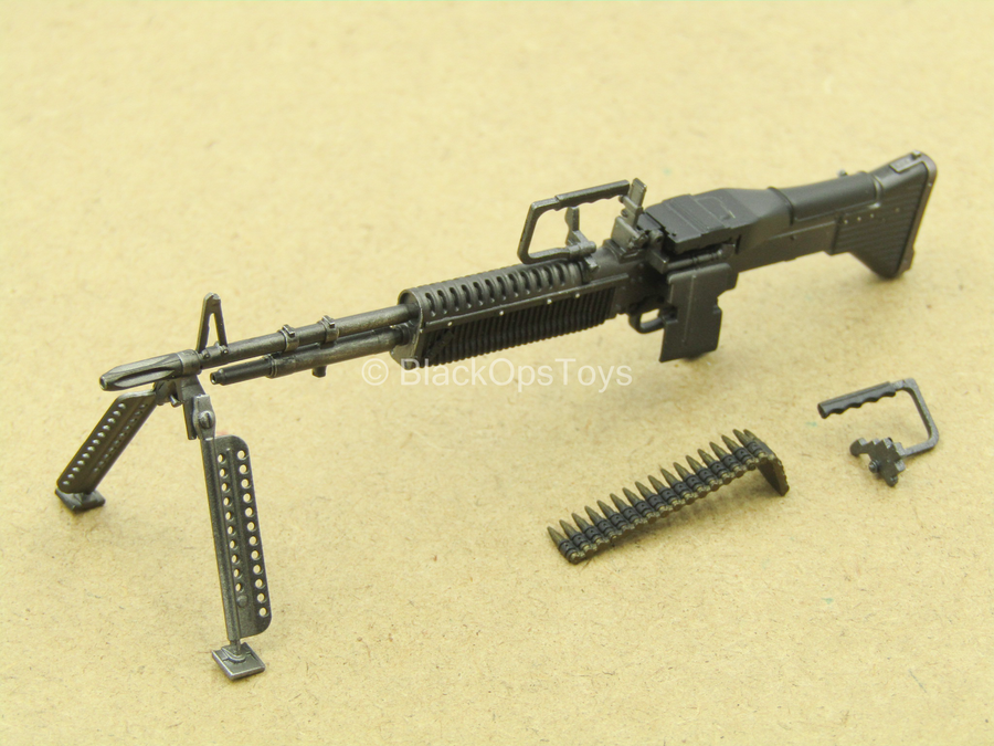 1/12 - Vietnam - M60 Gunner - M60 Light Machine Gun
