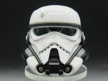 Star Wars - Patrol Trooper - White Helmeted Head Sculpt