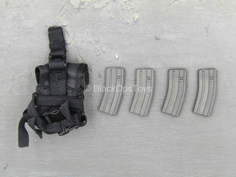 Secret Service Agent - Mark - Drop Leg Dual Mag Pouch w/Mag Set