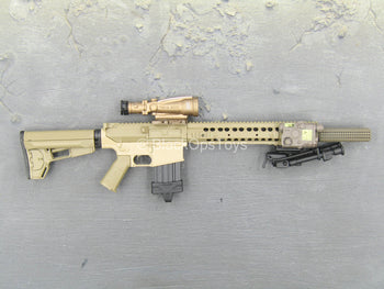 Sully Custom - Tan MK11 MOD 1 7.62 Rifle w/Accessory Set