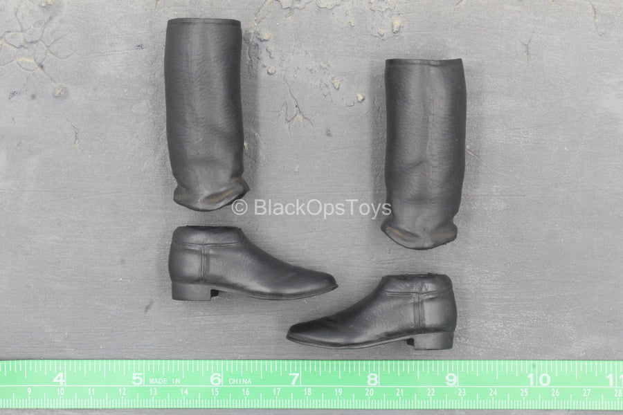 Captain America - Red Skull - Black Boots (Peg Type)