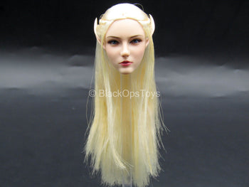 Elf Queen Emma - Female Elven Head Sculpt