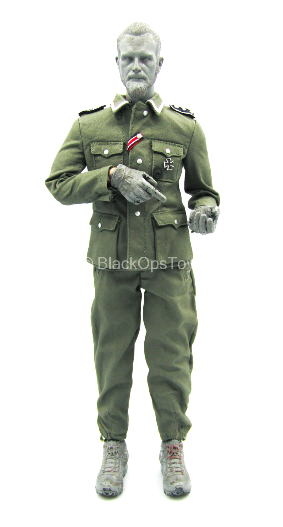 WWII - German Radio Operator - Green Combat Uniform Set