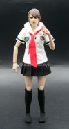 Female Schoolgirl Uniform Set w/Cell Phone