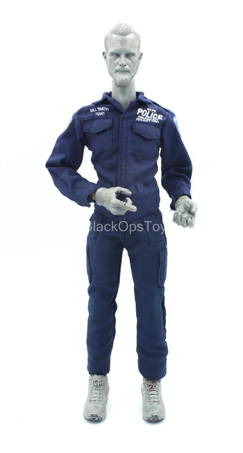 Emergency Service Unit - Blue Police Uniform Set Type 1