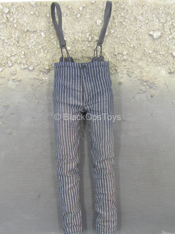 Sweeney Todd - Weathered Black Pants w/Suspenders