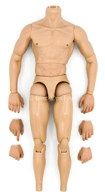 Indiana Jones ROTLA - Male Base Muscle Body