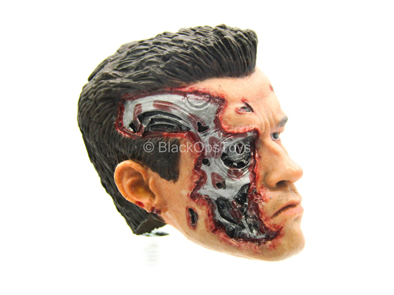 Terminator - Male Battle Damaged Head Sculpt