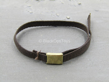 Indiana Jones ROTLA - Black Belt w/Metal Buckle