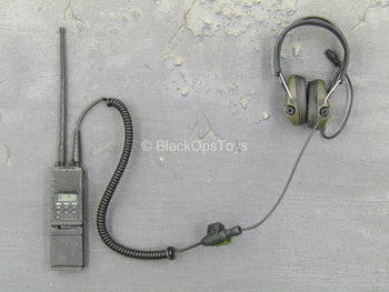 US Army Ranger - Black Radio w/Head Set