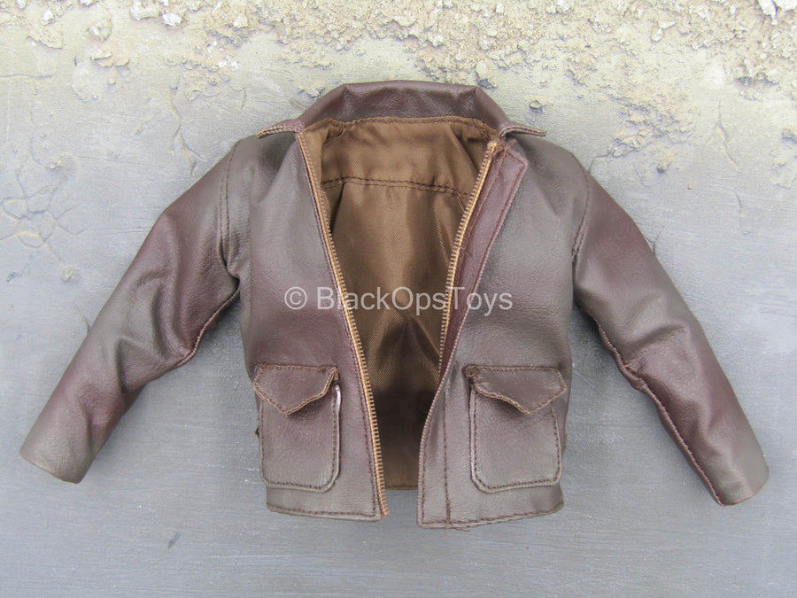 Indiana Jones ROTLA - Brown Leather-Like Jacket