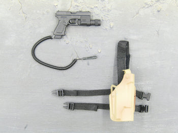 USAF - Pararescue Jumper - Pistol w/Coyote Tan Drop Leg Holster