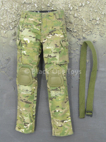 Female Shooter - Multicam - Combat Pants w/Belt