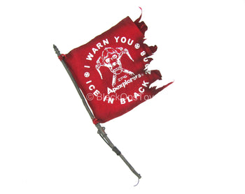 "Tough Apexplorers - Adam - Red ""I Warn You"" Flag"