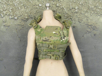 Female Shooter - Coyote Tan - Multicam Vest