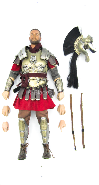 Roman General - Complete Dressed Male Body w/Head Sculpt & Helmet