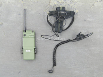 DEVGRU NWD Group - OD Green Radio w/Headphones