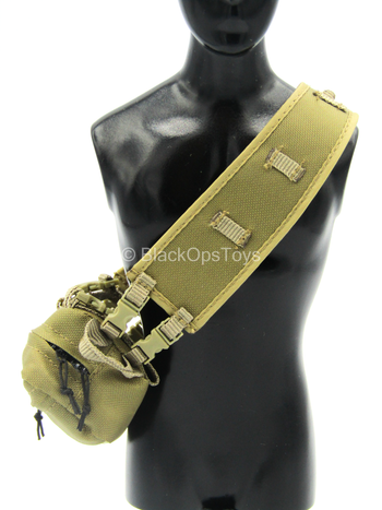 USMC 1st Battalion - Coyote Tan Cross Body Bag