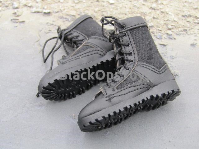 Mini Times US Navy from The Last Ship Navy Black Danner Foot Type Boots