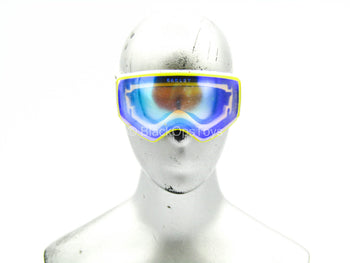 NSW Winter Warfare Gunner - White Goggles w/Reflective Blue Lens