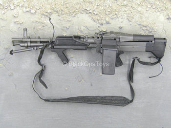 Sully Custom - Black MK48 LMG w/Sling